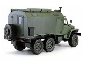 Радиоуправляемая  машина WPL УРАЛ (зеленый) 6WD 2.4G 1/16 RTR 1