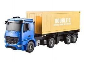 Радиоуправляемый контейнеровоз Double Eagle Mercedes-Benz Arocs 1:20 2.4G