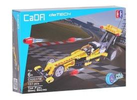 Конструктор CADA deTech драгстер совместим с C52016W, инерционный (151 деталь) 1