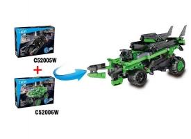 Конструктор CADA Technic монстр-внедорожник совместим с C52005W, инерционный (182 детали) 1