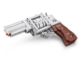 Конструктор CADA deTech револьвер (475 деталей), (китайская коробка) 1