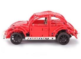 Радиоуправляемый конструктор CADA deTech ретро-автомобиль жук (472 детали) 1