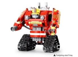 Радиоуправляемый конструктор CADA 2 в 1 пожарный  робот-трансформер (538 деталей) 1