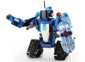 Радиоуправляемый конструктор CADA 2 в 1 полицейский  робот-трансформер (556 деталей) 1