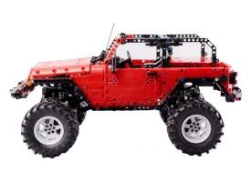 Радиоуправляемый конструктор CADA deTech Jeep Wrangler (1941 деталь) 1