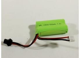 Аккумулятор Li-Ion 500mAh, 7.4V для автомоделей WPL B-14, B-24, C-14, C-24, B-16, B-36