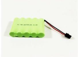 Аккумулятор Ni-Mh 700mAh, 6V для WPL (без пропорц. серво) B-14, B-24, C-14, C-24, B-16, B-36