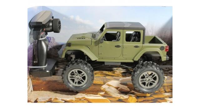 Радиоуправляемый краулер Double Eagle JEEP 1:14 4WD 2.4G (кузов пикап) 3