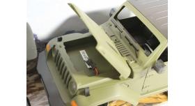 Радиоуправляемый краулер Double Eagle JEEP 1:14 4WD 2.4G (кузов пикап) 4