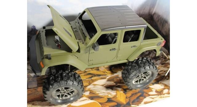 Радиоуправляемый краулер Double Eagle JEEP 1:14 4WD 2.4G (кузов пикап) 5