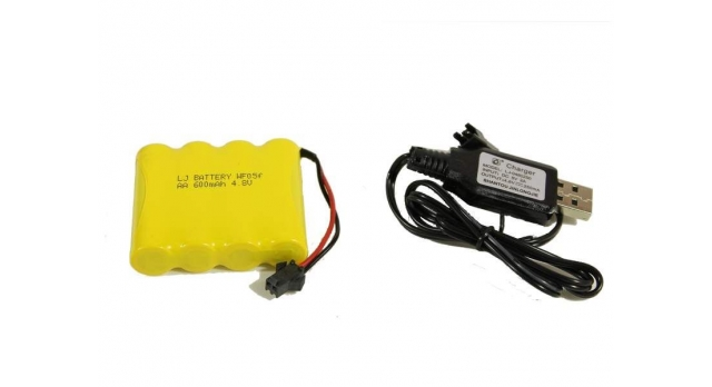 Радиоуправляемый краулер Double Eagle JEEP 1:14 4WD 2.4G (кузов пикап) 9