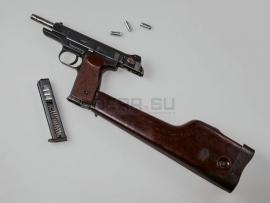 6061 Охолощённый автоматический пистолет Стечкина (АПС)