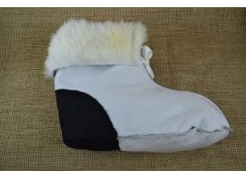 Меховые носки из натуральной овчины (унтята)