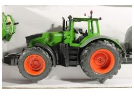 Радиоуправляемый сельскохозяйственный трактор с поливальной установкой Double Eagle 1:16, поливает водой 1
