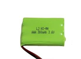 Аккумулятор Ni-Mh 300mAh, 3.6V, SM для Double Eagle E571-003 1