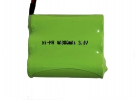 Аккумулятор Ni-Mh 300mAh, 3.6V, SM для Double Eagle 1