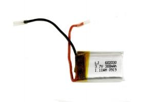 Аккумулятор Li-Po 300mAh, 3.7V для Double Eagle C51048W, C51049W