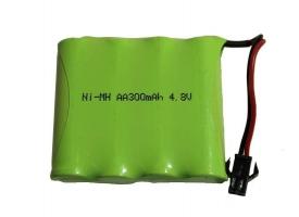 Аккумулятор Ni-Mh 300mAh, 4.8V, SM для Double Eagle E562-003, E563-003