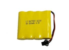 Аккумулятор Ni-Cd 600mAh, 4.8V, SM для Double Eagle E327-003, E333-003, E335-003
