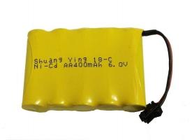 Аккумулятор Ni-Cd 400mAh, 6V, SM для Double Eagle E716-003