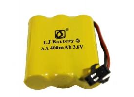 Аккумулятор Ni-Cd 400mAh, 3.6V, SM для Double Eagle E576-003, C51001W, C51005W, C51007W, C51009W, C51013W, C51014W, C510