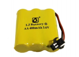 Аккумулятор Ni-Cd 400mAh, 3.6V, SM для Double Eagle E576-003, C51001W, C51005W, C51007W, C51009W