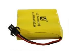 Аккумулятор Ni-Cd 400mAh, 3.6V, SM для Double Eagle E576-003, C51001W, C51005W, C51007W, C51009W, C51013W, C51014W, C510 1