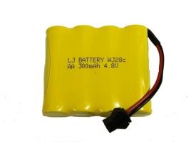 Аккумулятор Ni-Cd 300mAh, 4.8V, SM для Double Eagle E351-003, E354-003