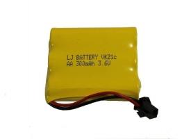 Аккумулятор Ni-Cd 300mAh, 3.6V, SM для Double Eagle E570-003, E578-003, E655-003