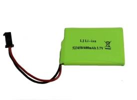 Аккумулятор Li-Ion 600mAh, 3.7V SM для Double Eagle E355-003, E577-003, E670-003, E672-003