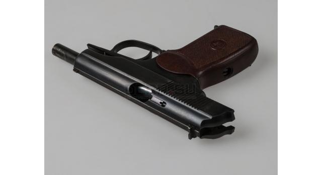 Холостой пистолет Макарова (ПМ) / ПМ-О под 10х24 [пм-81]