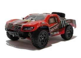 Радиоуправляемый шорт-корс Remo Hobby Rocket UPGRADE (красный) 4WD 2.4G 1/16 RTR