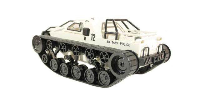 Радиоуправляемый вездеход Military Police (белый) 2.4G 1/12 RTR 3