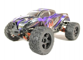 Радиоуправляемый монстр Remo Hobby MMAX UPGRADE (синий) 4WD 2.4G 1/10 RTR