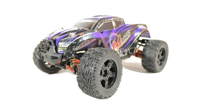 Радиоуправляемый монстр Remo Hobby MMAX UPGRADE 4WD 2.4G 1/10 RTR 1