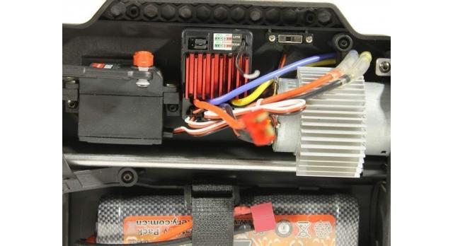 Радиоуправляемый монстр Remo Hobby MMAX UPGRADE 4WD 2.4G 1/10 RTR 23