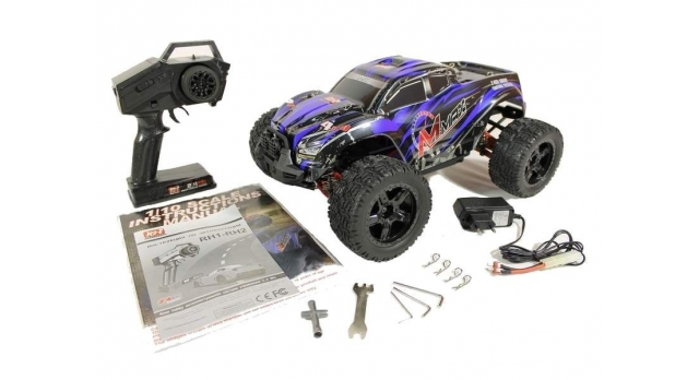 Радиоуправляемый монстр Remo Hobby MMAX UPGRADE 4WD 2.4G 1/10 RTR 39