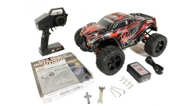 Радиоуправляемый монстр Remo Hobby MMAX UPGRADE 4WD 2.4G 1/10 RTR 40