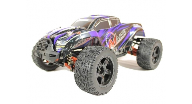 Радиоуправляемый монстр Remo Hobby MMAX PRO UPGRADE 4WD 2.4G 1/10 RTR 1