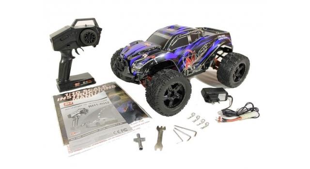 Радиоуправляемый монстр Remo Hobby MMAX PRO UPGRADE 4WD 2.4G 1/10 RTR 36