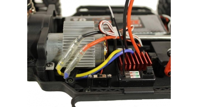 Радиоуправляемый шорт-корс Remo Hobby EX3 UPGRADE 4WD 2.4G 1/10 RTR 32