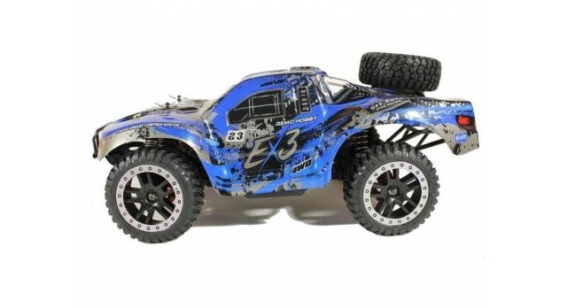 Радиоуправляемый шорт-корс Remo Hobby EX3 Brushless UPGRADE 4WD 2.4G 1/10 RTR 12