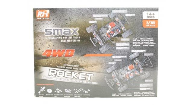 Радиоуправляемая багги Remo Hobby Dingo UPGRADE 4WD 2.4G 1/16 RTR 29