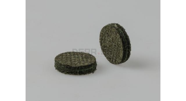 Пыж ДВП (древесно-волокнистый осаленный) / 12 калибр Н5 добавочный 200шт. [мт-333]
