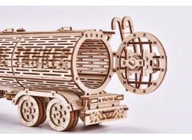 """Механический 3D-пазл из дерева """"Биг Риг Цистерна"""""""