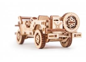Механический 3D-пазл из дерева Джип/Комплект для сборки [КД-2012]