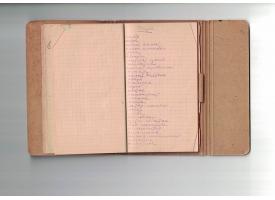 Записная блок-книжка Центробумтрест