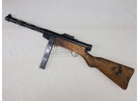 Охолощённый пистолет-пулемёт Суоми (Suomi M31) /  Под холостой патрон 10х31-мм [мт-809]