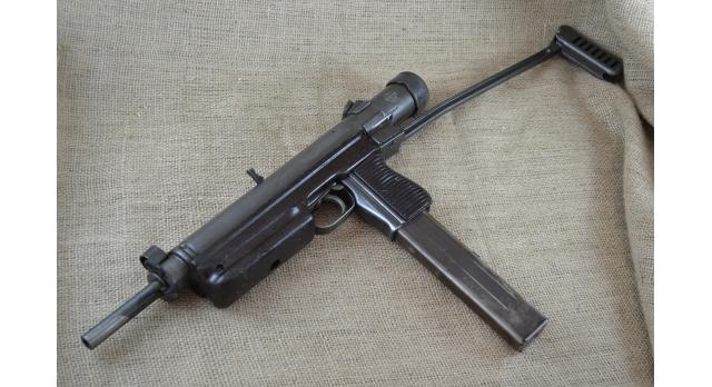 Охолощенный пистолет-пулемет VZ-26/Под холостой патрон 10х31 (РОК) [со-35]