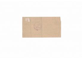 Справка Карповой А.С. об утере паспорт. Ленинград, 1942 год